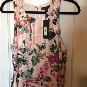 Banana Republic Dresses - NWT sz 14 Banana Republic pink floral dress